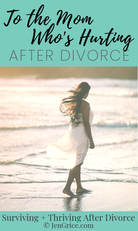 Are you a hurting Mom? Do you wonder when life is going to get better? Are you feeling alone, face into the floor, with nowhere to turn? There is healing after divorce with God. via @msjengrice