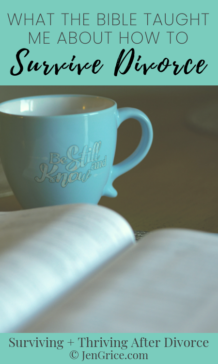 How did the Bible characters make it through their trials and struggles? With faith and trust in God's promises. That's how we can survive divorce too. via @msjengrice