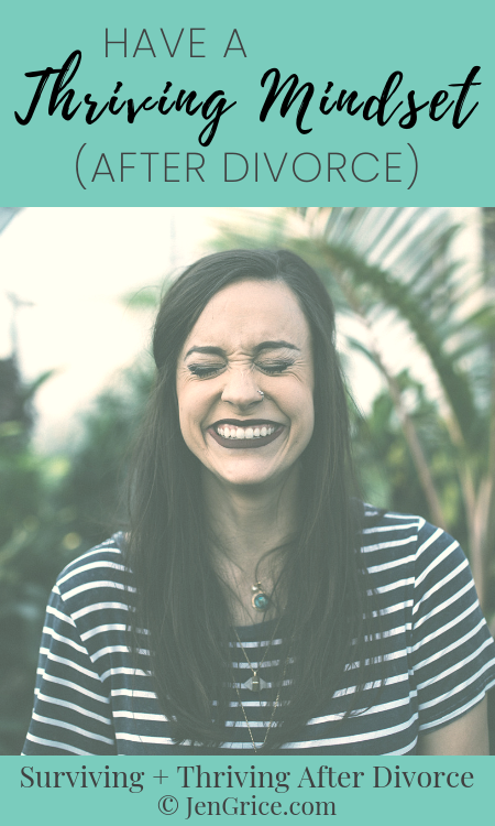 """I had to tell my brain to """"shut up!"""" in order to learn to have a thriving mindset. Then I had to feed it The Word of God to know the truth. This is healing and thriving after divorce. via @msjengrice"""