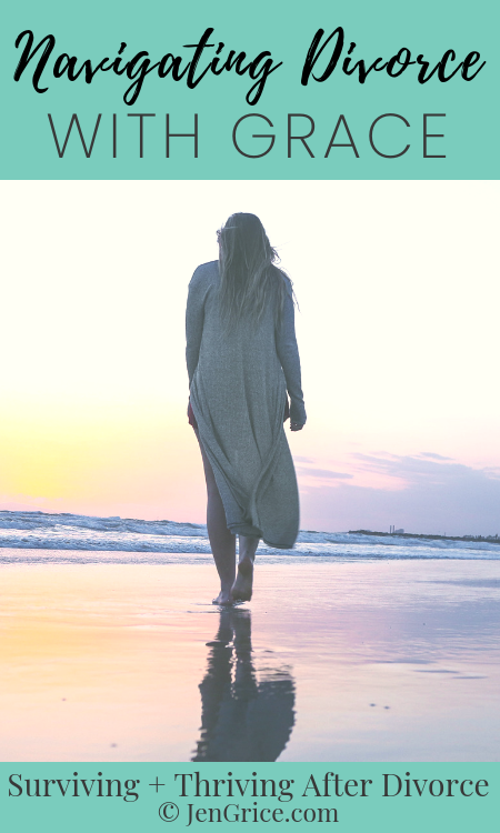 How do Christians navigate divorce? With grace, patient endurance, and accepting the path before them trusting God goes with them and before them. This is my divorce survival story. via @msjengrice