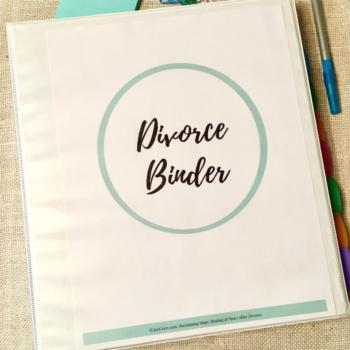 Divorced Mom's Survival Binder Bundle | By Jen Grice