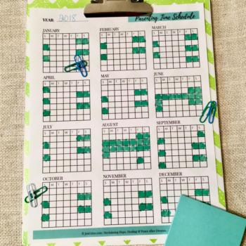 Parenting Time Schedule | Child Custody Tool Kit