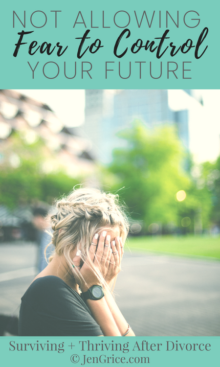 """The fear of the unknown kept me trapped in an unhealthy marriage. But when I surrendered everything to God, including if I would divorce, I no longer allowed fear to control my future. I wasn't afraid or controlled by the word """"divorce"""" anymore. via @msjengrice"""