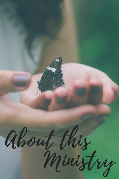 About this Ministry   By Jen Grice