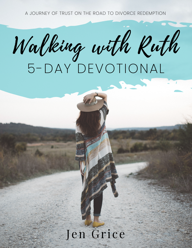 Walking with Ruth 5-Day Devotional | By Jen Grice via @msjengrice