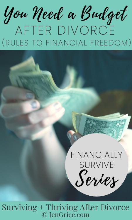 Are you ready to be on the road to financial freedom? After divorce, I followed these 4 rules and have worked my way down the debt-free path with You Need a Budget (YNAB)! via @msjengrice