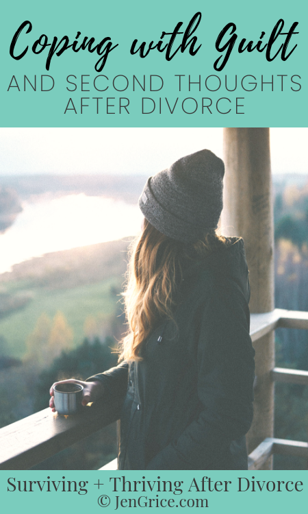 Most divorced Christian women have had a time where they felt guilt or second thoughts during the divorce process. But we just have to learn how to get through these normal feelings. via @msjengrice