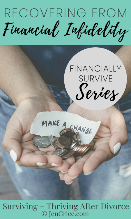 Financial infidelity is more common than adultery in a marriage. And can be just as damaging or more so. These are ways that you can prepare, recover, and financially survive divorce. via @msjengrice