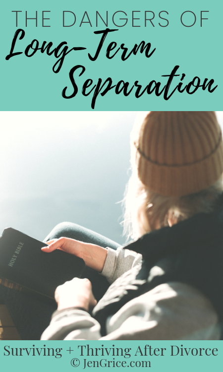 Long-term separation often seems like the best option – with not wanting to divorce, deal with the court, and financially support yourself. But many women face these dangers when choosing to stay married but separated instead of divorcing. via @msjengrice