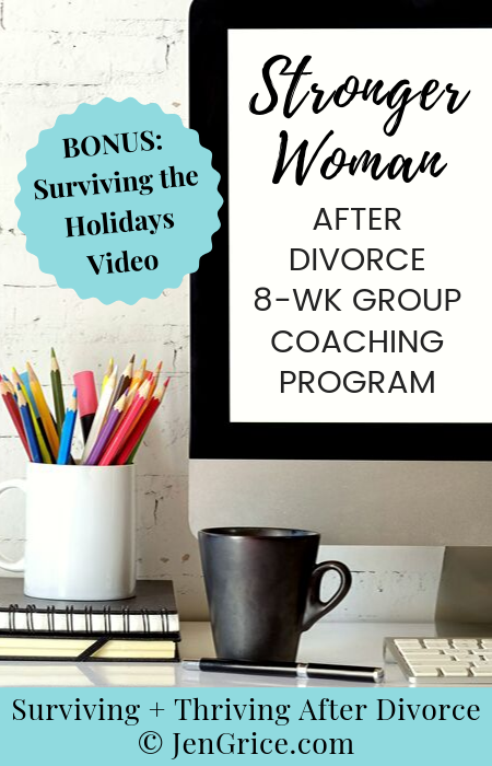 Stronger Woman After Divorce Program via @msjengrice