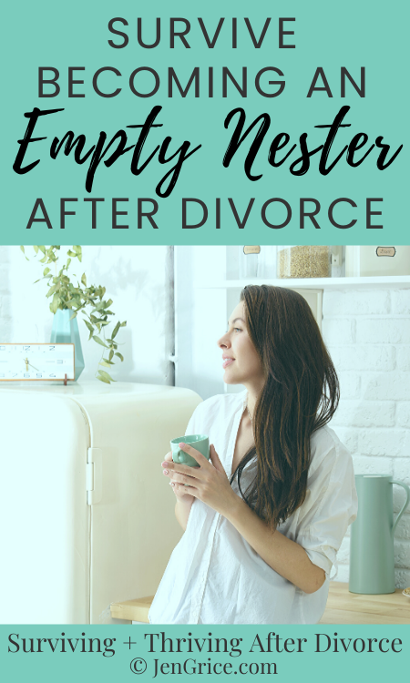 You survived divorce now you have to survive becoming an empty nester after divorce. Work through the feelings and learn how to cope. There are positives after divorce, let's find them together! via @msjengrice