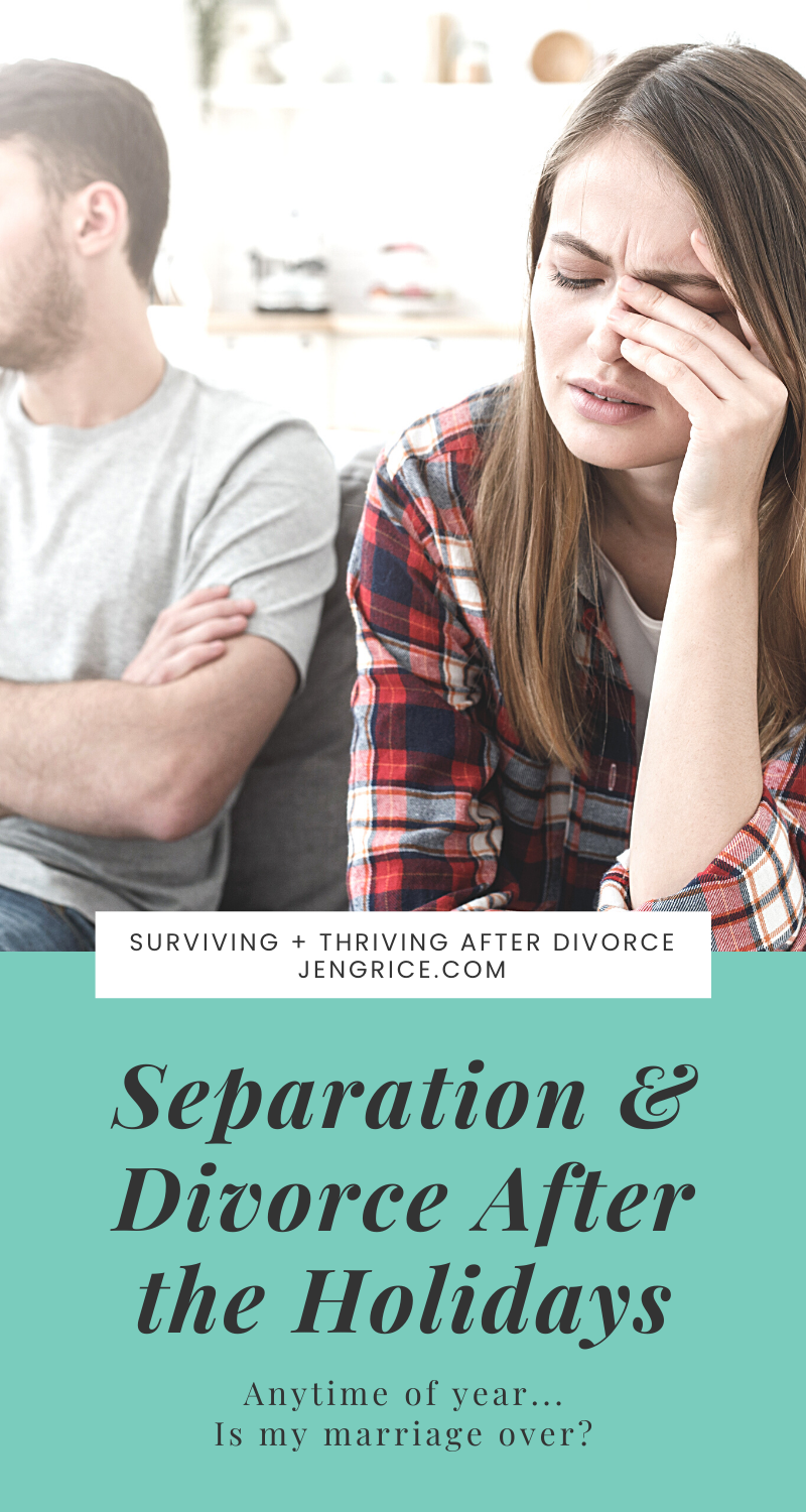 January is divorce month and as more and more women file for divorce, I've answered the common questions I receive about the end of a marriage, separation, and divorce. via @msjengrice
