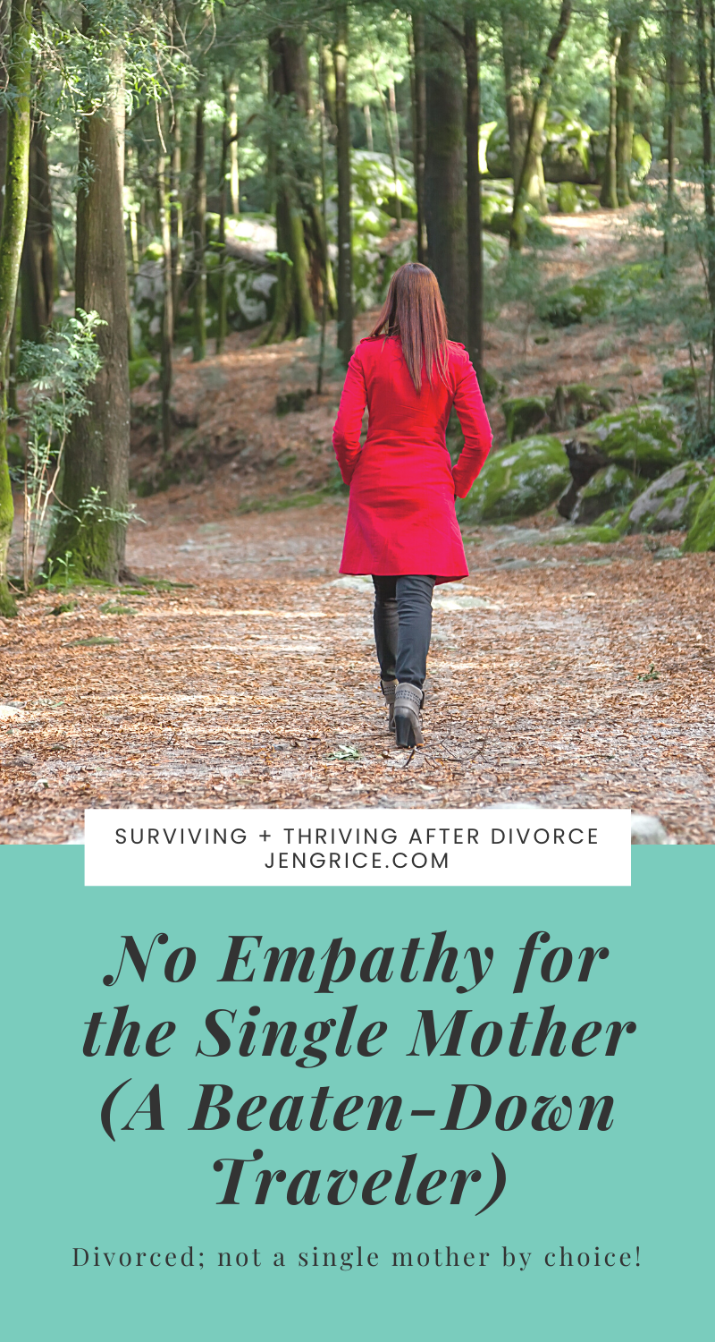 Single mothers have become the beaten-down travelers of this world that we blame for all society's problems. What would happen if we gave them some care and compassion to get back up on their feet? What if we were good Samaritans? via @msjengrice
