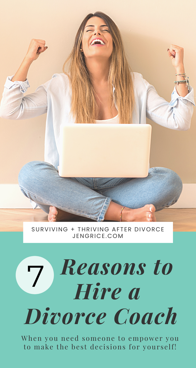 What is a Divorce Coach and why would I need to hire one? This is the extensive post that explains it all. You can be prepared and conquer your divorce with the encouragement and empowerment of a coach to walk with you on this journey. #divorcecoach #divorcecoaching #divorceexpert #divorcecommunity #survivedivorce via @msjengrice