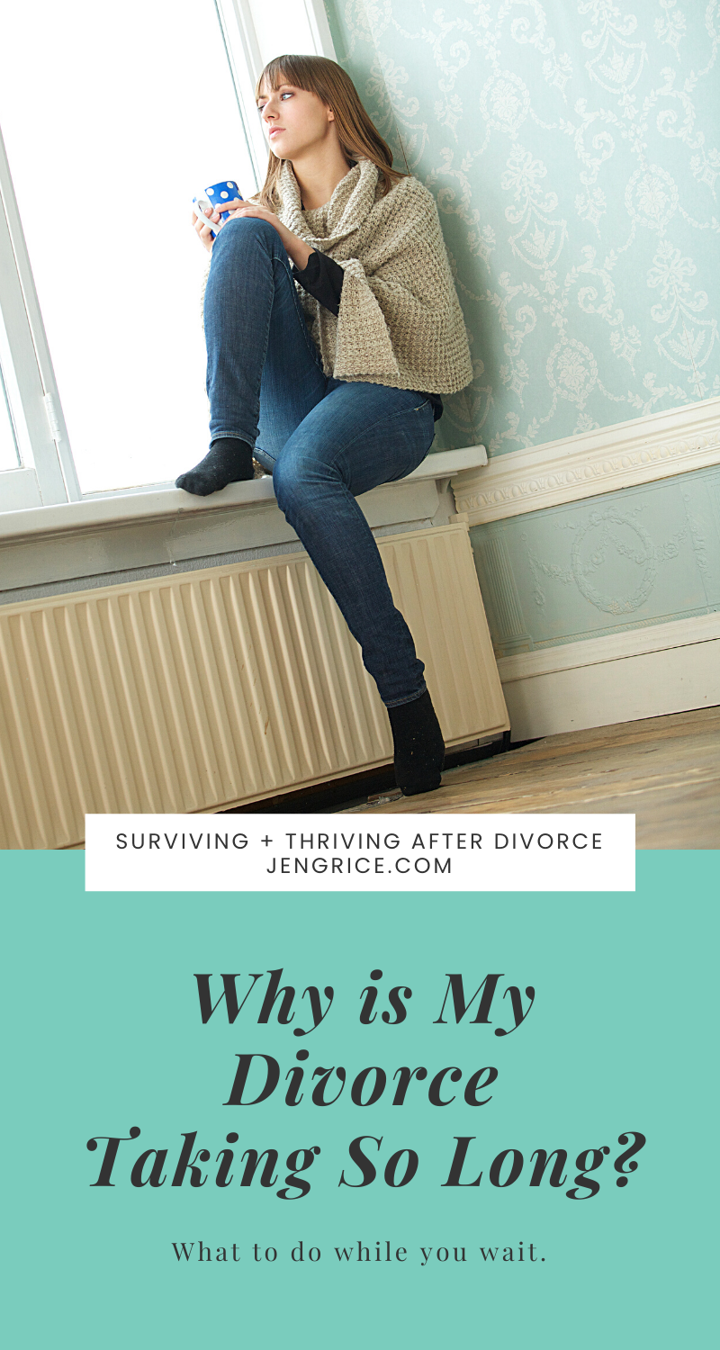 There is great frustration in waiting for the divorce process to be worked out and completed. Many women wonder why it's taking so long, when it will end, and what to do while they wait. Here is the answer to those questions. You can and will survive this divorce... and thrive after! Stay strong and have faith that God will get you through. via @msjengrice