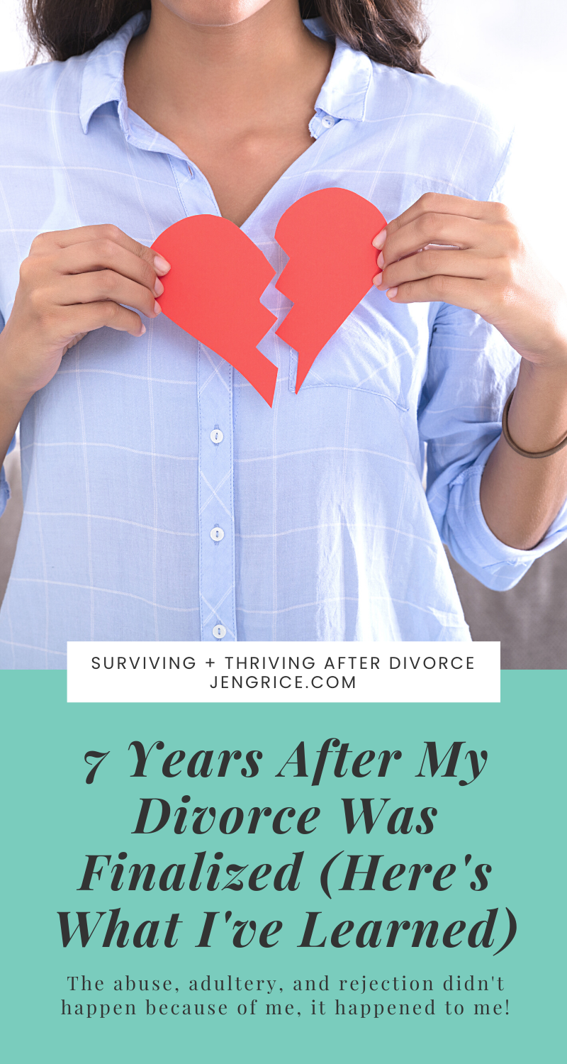 Today is the 7 year anniversary of the day my divorce was finalized, and these are the things I've learned. You don't have to take the blame for him running away. HIs running says more about him than it says about you. via @msjengrice