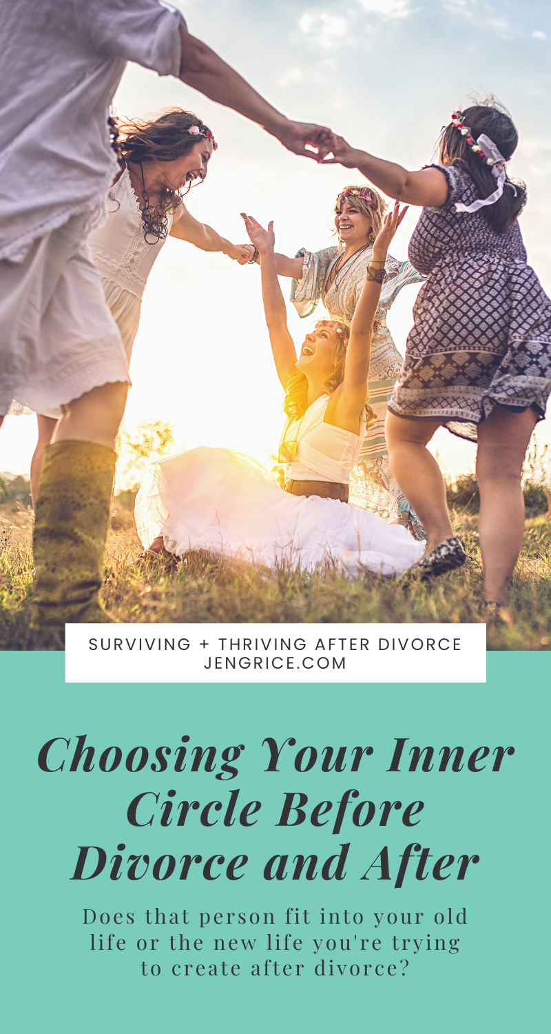 Finding your people, your inner circle is a lifelong process. And an unwanted divorce can disturb that process and cause you to lose everyone close to you. Now, you need to choose your inner circle wisely to create that emotionally healthy life filled with peace and healing after divorce. via @msjengrice